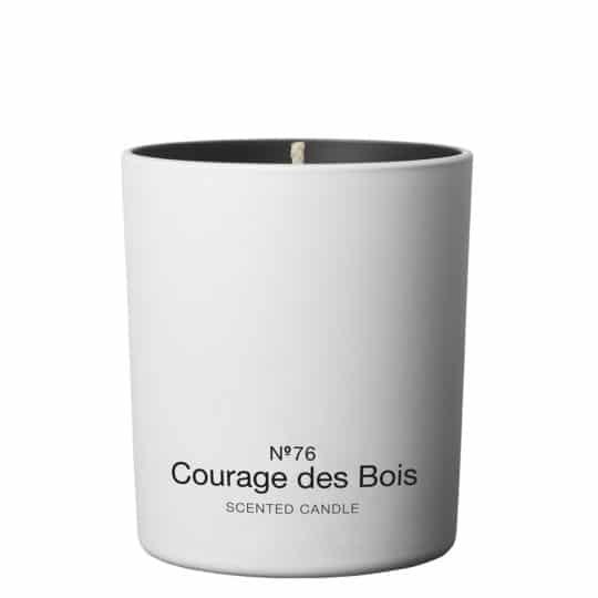 Duftkerze mit Rose und Geranie in weiss, 220g, 50 Stunden Brenndauer von Marie Stella Maris, zoeppritz Courage des Bois