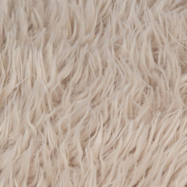 Faux fur blanket, clay from polyster, 140x190cm, zoeppritz Reborn