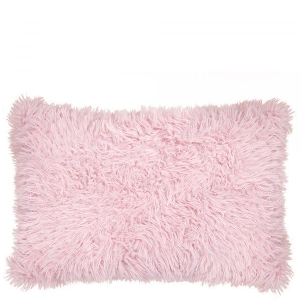 Kissenhuelle aus Polyster, rosa in 30x50cm, zoeppritz Reborn