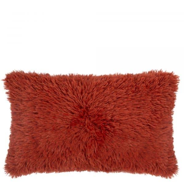 Kissenhuelle aus Polyster, rostfarben in 30x50cm, zoeppritz Reborn